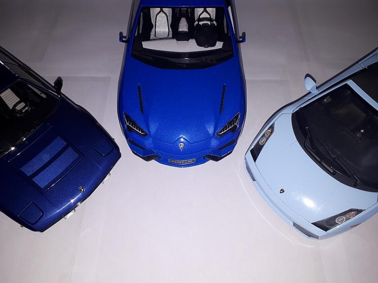 Patchwork bleu (capots)