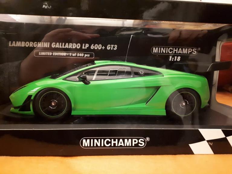 Gallardo GT3 1/18 Minichamps