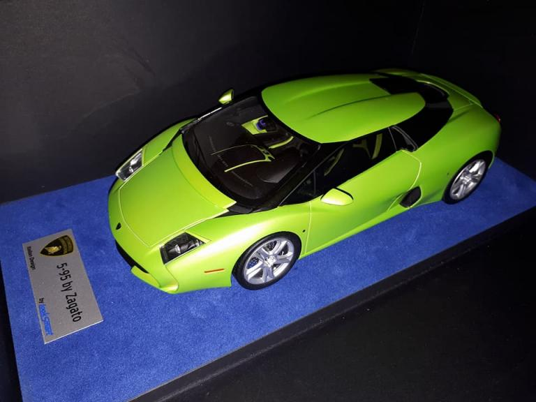 Lamborghini 5-95 Zagato 1/18 LookSmart