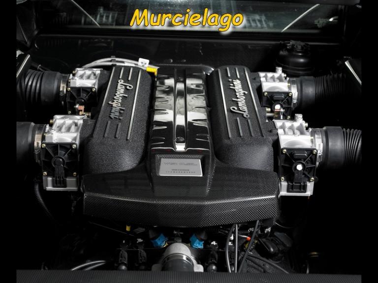 Le moteur de la Murcielago