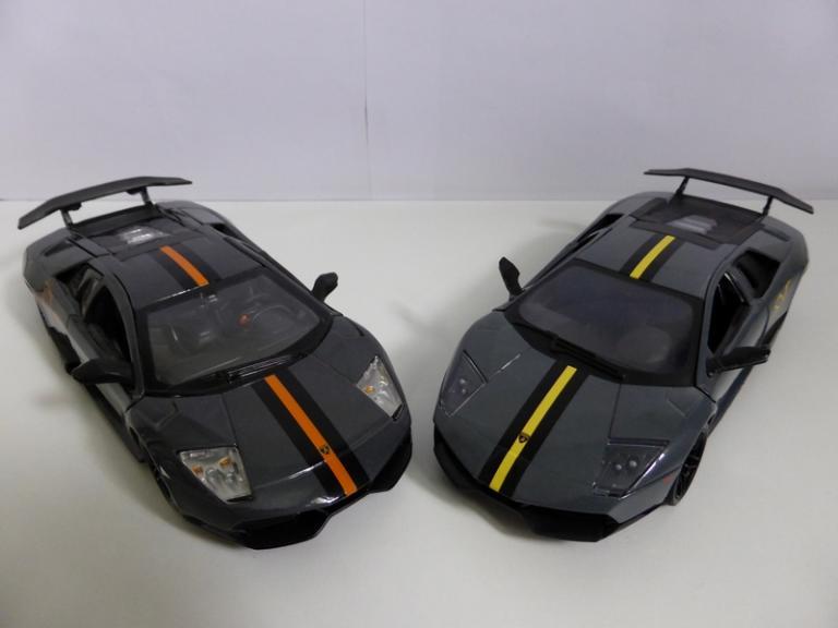 Duo de Murcielago SV China Edition 1/24