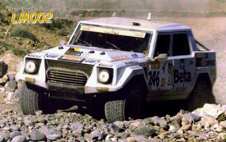 LM002 en rallye