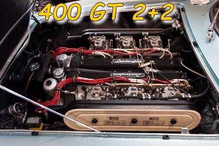 Le moteur de la 400 GT 2+2